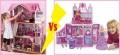 Какие кукольные дома для Барби лучше – деревянные или пластиковые?