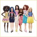 Mattel представил миру новых Барби с разными оттенками кожи и естественными формами.