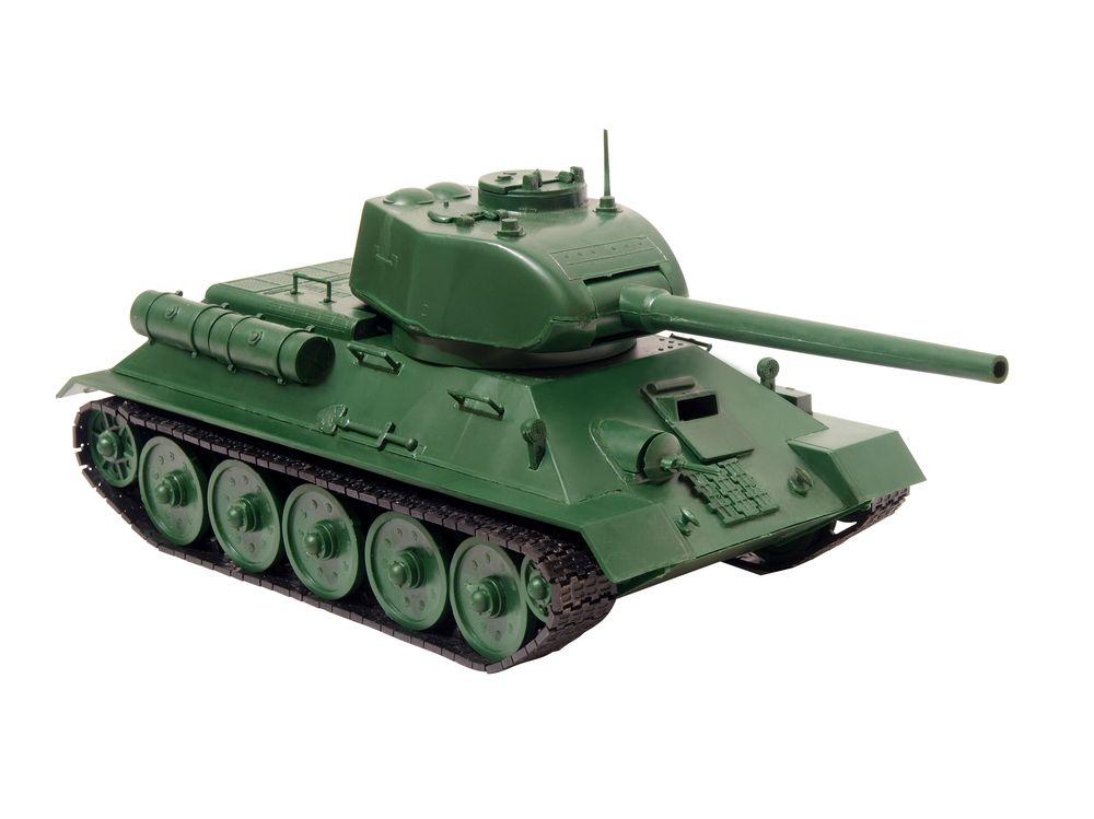 Модель танка т-34-85 пенопласта поэтапно