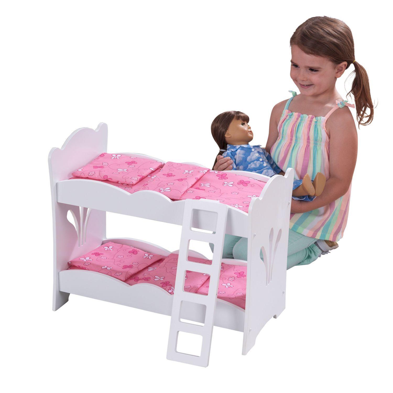 Кроватки для кукол двухъярусные своими руками