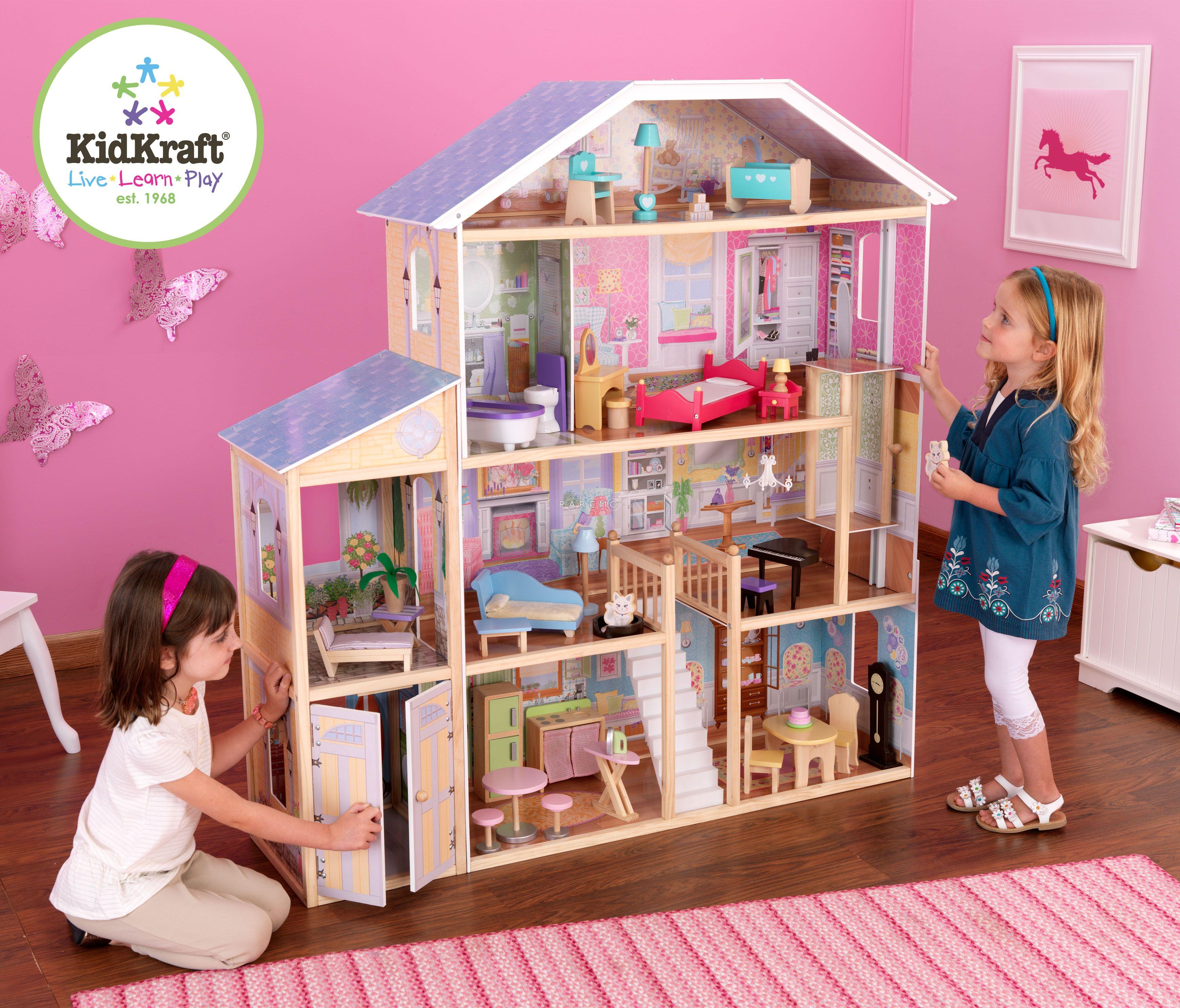 Кукольный домик для девочки  фото