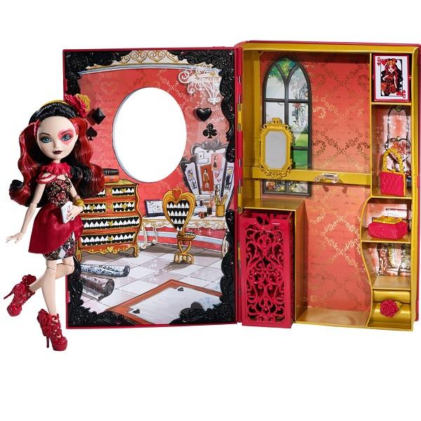 Домик книжка для куклы своими руками эвер афтер хай
