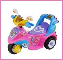 Электротрицикл (розовый), amax