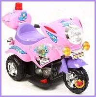Мотоцикл для детей до 8 лет 1-местный с музыкальной панелью и световыми эффектами, Weikesi