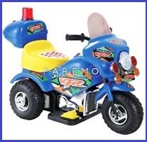 Электромотоцикл MINI, синий, 78Х36Х54 см, TJAGO